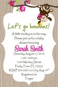 sock monkey baby shower invitation template free printable sock monkey baby shower invitations