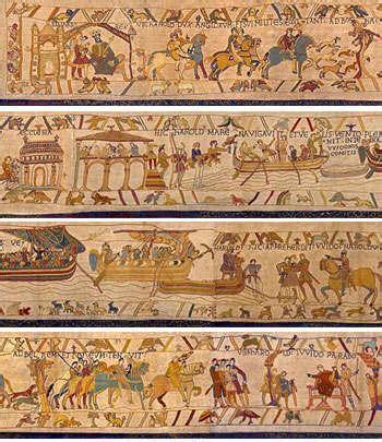 Qui A Fait La Tapisserie De Bayeux by Lambert Leonard Leforestier L Homme Qui Sauva La