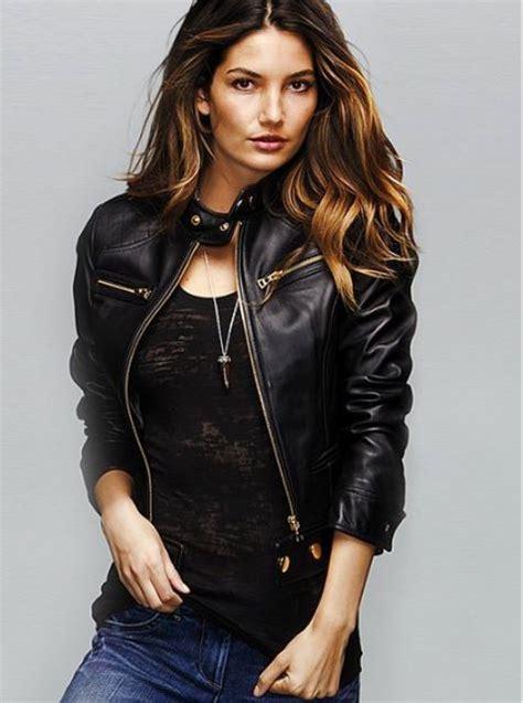 Ayin Blazer Black deri ceket modelleri ruj renkleri