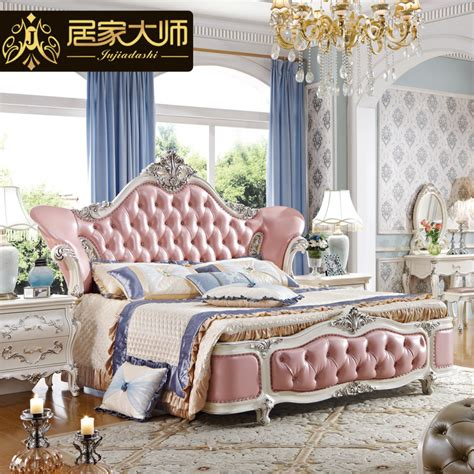 princess full size bed china guangzhou leather modern luxury princess bedroom