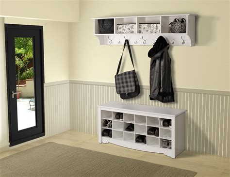 entryway shelf prepac hanging entryway shelf by oj commerce 82 07 109 74