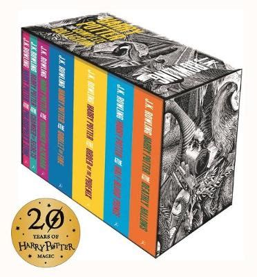 harry potter paperback box 0747557012 harry potter boxed set the complete collection by j k rowling wordery com