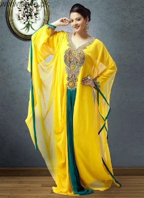 latest pakistani kaftan dresses   girls stylepk