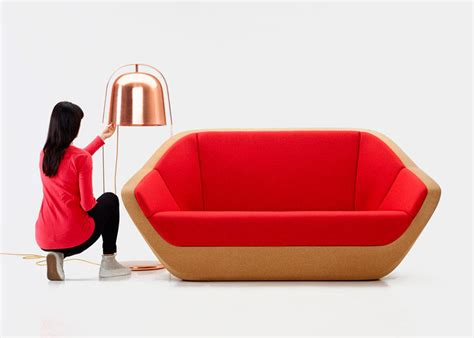 Cork Sofa Revived From Bottle Cork Leftovers Curvaceous