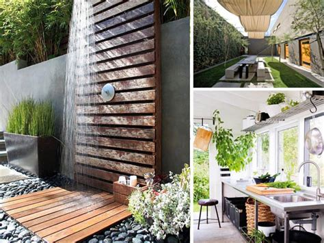 wunderschöner garten terrasse naturstein idee