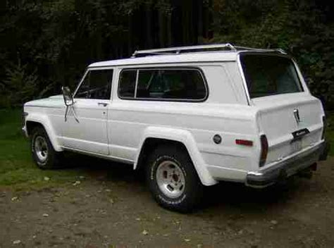 1979 jeep cherokee chief sell used 1979 jeep cherokee chief in clinton washington