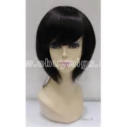 bob wigs human hair black 100 human hair black short straight bob hair wig us 69 00