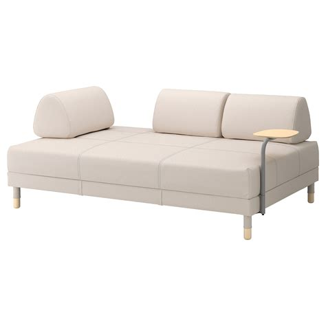 sofa side table ikea flottebo sofa bed with side table vissle beige 120 cm ikea