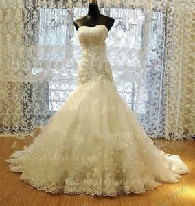 Wedding Dresses For Sale Online Affordable Bridal Gowns Online 2014 Wholesale Sweetheart Beaded Flowers Tulle Lace Wedding