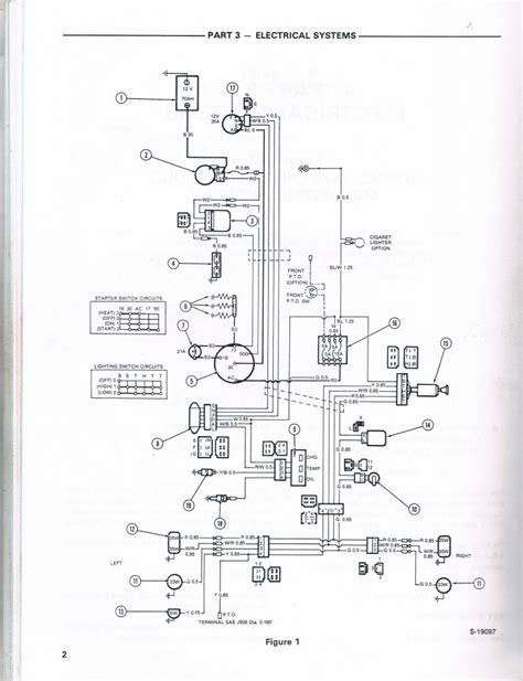 deere 210 wiring diagram wiring diagram with