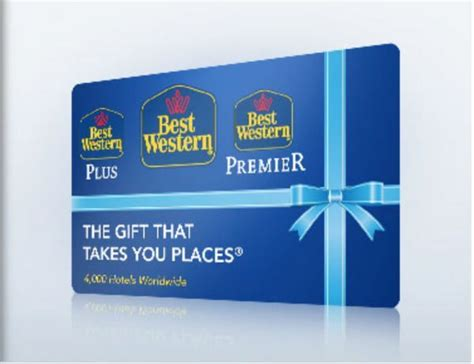 Best Western Gift Card Balance - blog giveaway 100 best western gift card million mile secrets