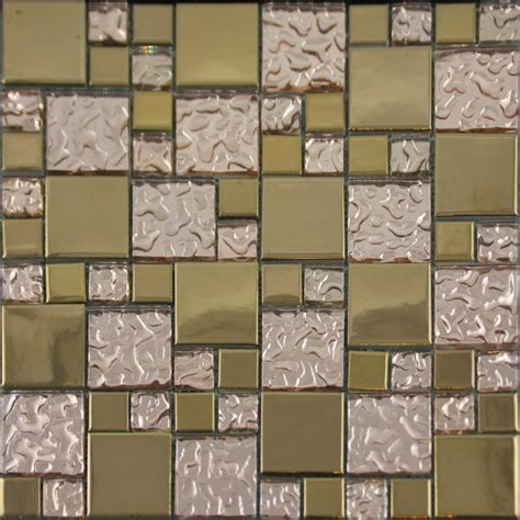 copper glass and porcelain square mosaic tile designs gold porcelain tile designs bathroom wall copper glass