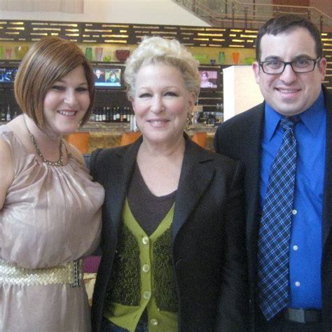 bette midler family healing service gives greenberg and family support in