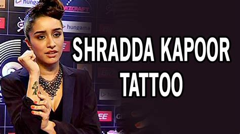 tattoo mp3 abcd 2 shraddha kapoor gets a tattoo for abcd 2 movie with varun
