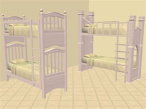 Sims 2 Bunk Beds Mod The Sims Shaundak S Ts3 Ts2 Converted Bunk Beds Recoloured