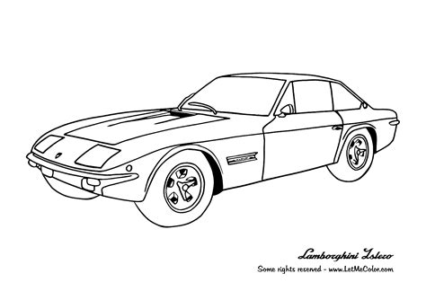 free coloring pages of simple car colouring pages of easy cars pages transport simple