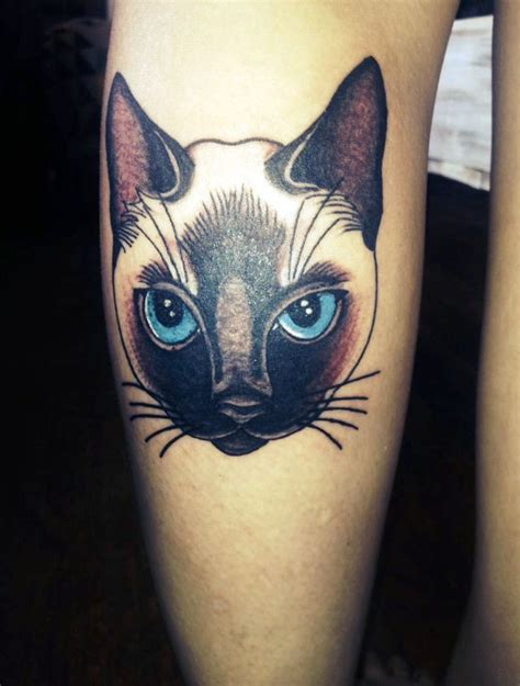siamese cat tattoo 20 cat ideas for 183 inspired