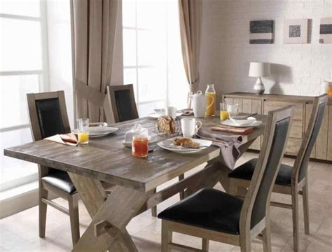 elegant dinner tables pics rustic dining table for contemporary homes decozilla