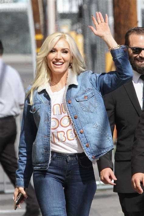 Gwen Stefani On Jimmy Kimmel by Gwen Stefani Appearance On Jimmy Kimmel Live In
