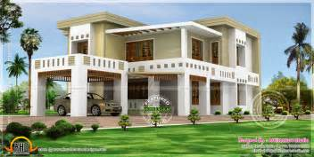 flat roof house design flat roof house in 389 square yards home kerala plans