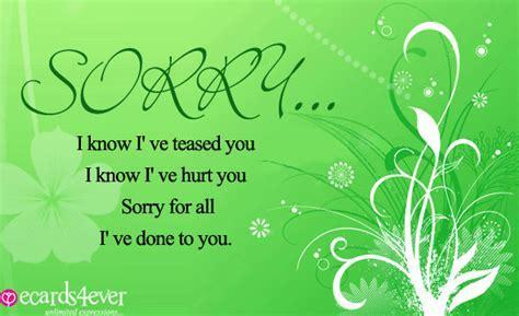 Sorry Greeting Cards   I'm Sorry Greeting Cards   Sorry