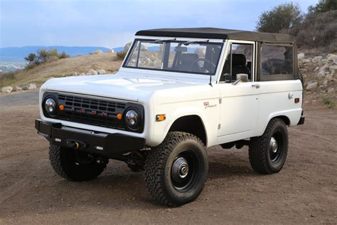 icon bronco icon s latest bronco is restomod perfection coolfords