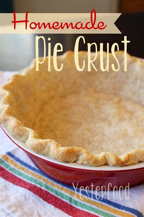 Handmade Pies - yesterfood pie crust