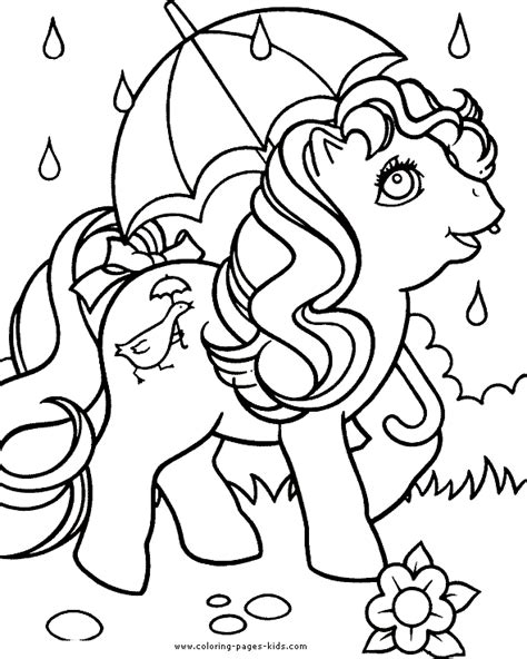 my little pony color page coloring pages for kids