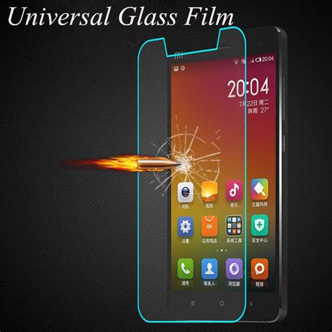 Tempered Glass Samsung Xiaomi Oppo Universal premium 2 5d 9h universal tempered glass for smartphone without home key for zte for xiaomi for