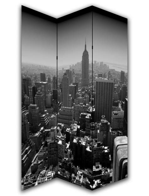 New York Room Divider Screen New York Black White Room Divider Screen Room Dividers Uk