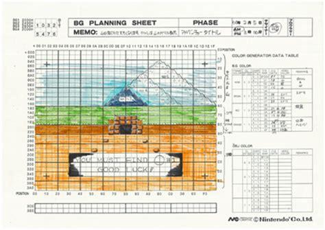 game design document zelda iwata asks bonus 1 ancient documents from 1985 iwata