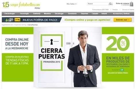 edredones saga falabella peru cierra puertas saga falabella viernes 12 de septiembre 2014