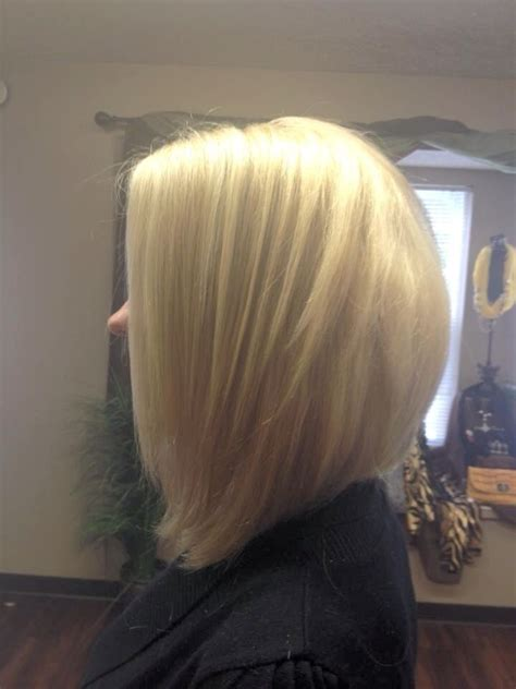a line haircuts front and back views shoulder length bob a line my style pinterest