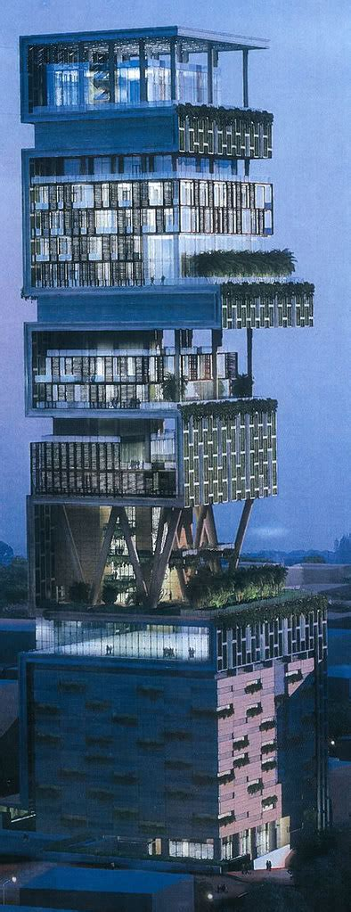 antilla the most expensive house in the world from india