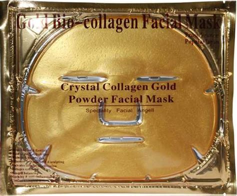 Buy 1 Get 1 Masker Topeng Gold Bio Collagen Facia Mask Masker Muka gold bio collagen mask mask gold powder collagen mask moisturizing