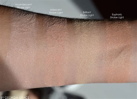 ambient lighting powder review hourglass ambient strobe lighting powder highlighters