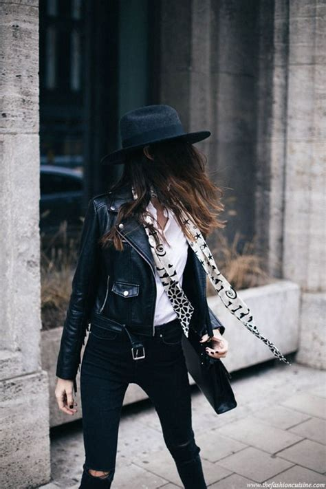 edgy urban cool hair on pinterest 86 pins edgy black and white street style looks we love