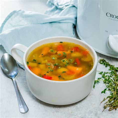 Detox Soup Recipe Crock Pot by Cold Flu Nourishing Crockpot Vegetable Soup Recipe
