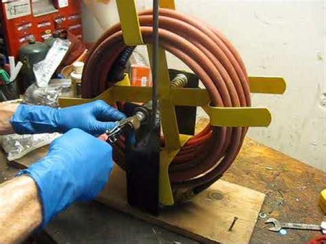 leaking air hose reel swivel repair