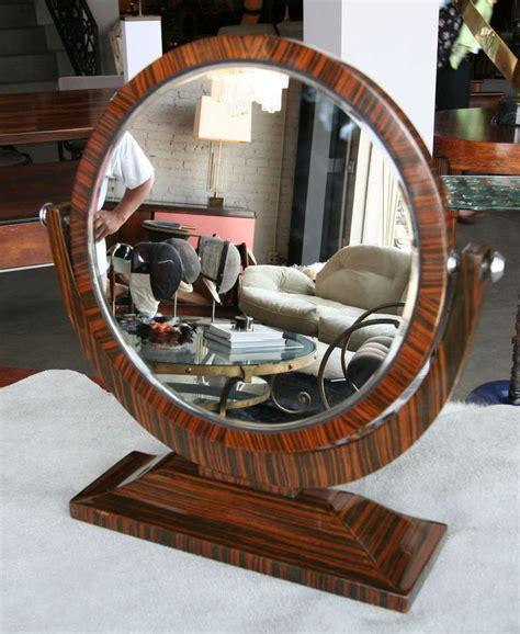 Tilting Vanity Mirror by Macassar 1950s Tilting Vanity Mirror For Sale At 1stdibs