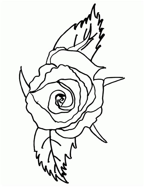 rose coloring pages pdf rose coloring pages coloring home