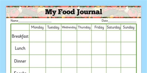our health journal a co created wellness resource books my healthy food journal health healthy food food