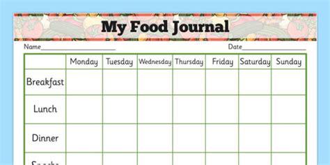 printable food diary in spanish my healthy eating food journal health healthy food food