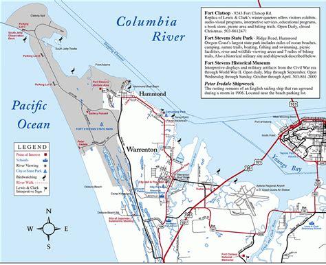 map astoria oregon warrenton map warrenton or mappery