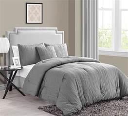 king grey comforter sets buy king size comforter sets crinkle 4pc king