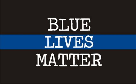 blue lives matter in the line of duty books thin blue line blue lives matter white text reflective decal