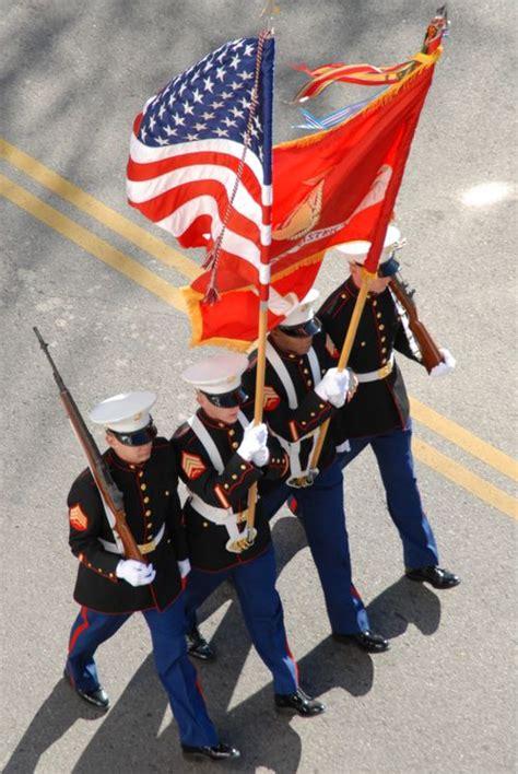 us marine color guard united states marine corps