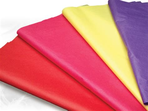 Tissue Paper - satin wrap solid color tissue paper sheets