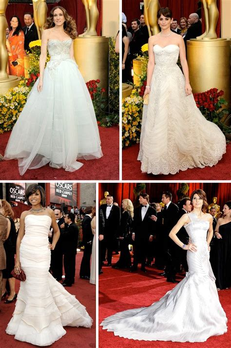 Which Of Penelopes Oscar Dresses Was The Most Fab by Oscar Inspiration For Your Wedding From Penelope