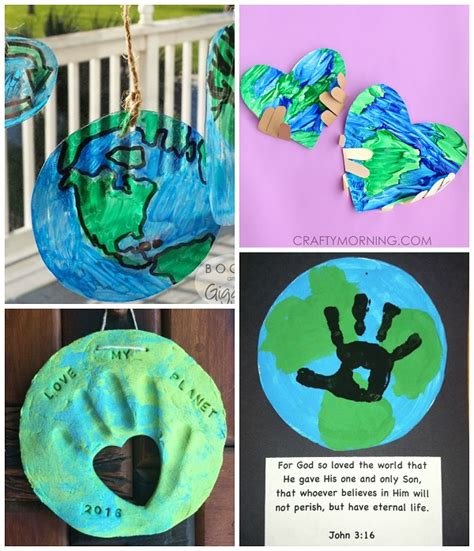 earth crafts for coolest earth day craft ideas for crafty morning